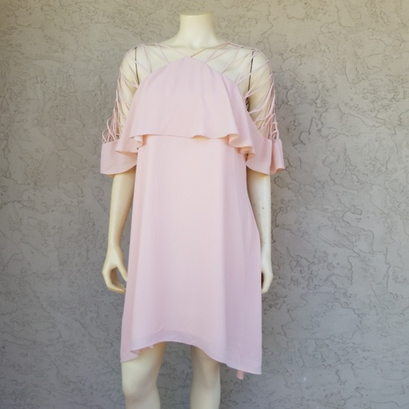 b56f1ff4bf4b Endless Rose Dresses | Pink Strappy Sleeve Mini Dress | Poshmark
